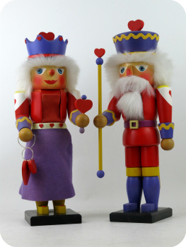 Ulbricht's Queen & King of Hearts from 1985